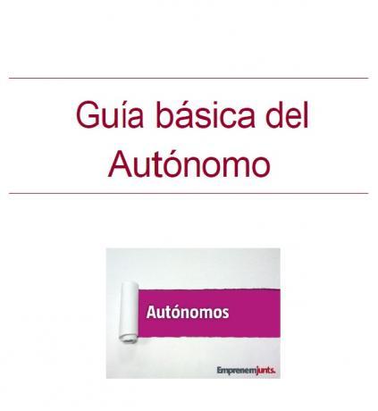 """portada Manual """"Guía básica del autónomo"""""""