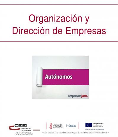 Organización y dirección de empresas