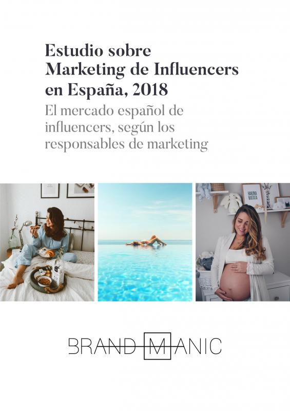 Estudio Marketing de Influencers en España, 2018