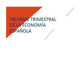 Informe Trimestral de la CEOE sobre la Economía Española - Diciembre 2018