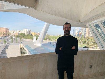 Javier Esteban en el Palau Reina Sofía