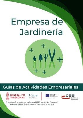 Agricultura, Ganadería y Pesca. Empresas de jardinería.