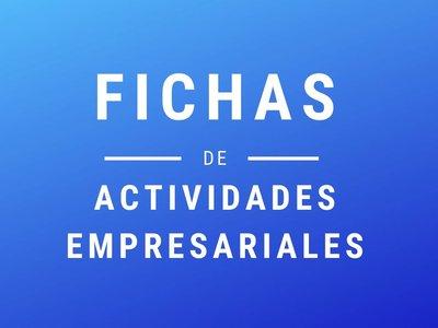 Fichas de actividades empresariales