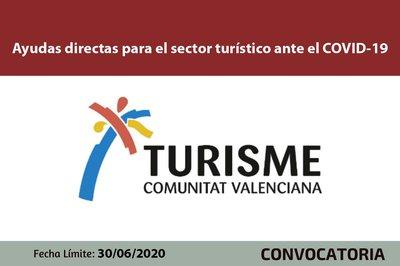 Ayudas directas para el sector turístico ante el COVID-19