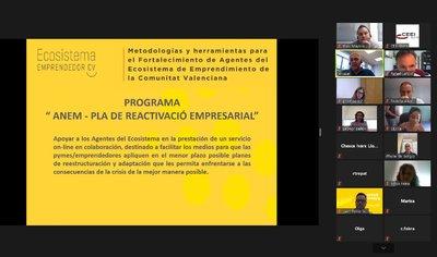CEEI ELCHE presenta el programa ANEM a los agentes del ecosistema de la provincia