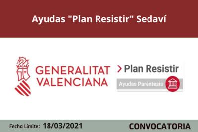 """Ayudas """"Plan Resistir"""" en Sedaví"""