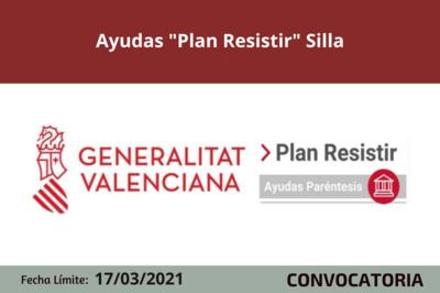"""Ayudas """"Plan Resistir"""" en Silla"""