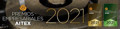 Tercera edición de los premios empresariales AITEX 2021