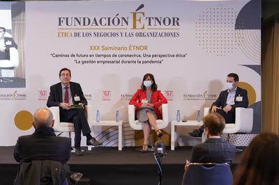 Maite Marín y Toño Pons apelan a los valores fundacionales para que las empresas perduren