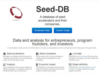 Seed-DB. A database of seed accelerators and their companies.